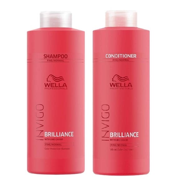 WELLA - Brilliance Shampoo & Conditioner